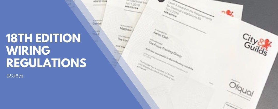 18th Edition Latest Wiring Regulations