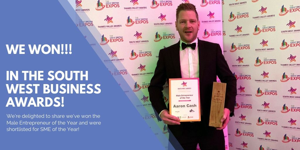 Finish Electrical Win in the South West Business Awards!